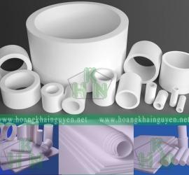 Nhựa Teflon dạng tấm | Nhựa Teflon cây | Ống nhựa Teflon