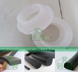 Ron silicone trắng